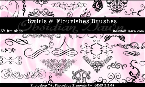 Download 500+ Swirls Photoshop Brushes Yours to Get for Free ...