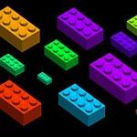 Cepillos de ladrillos Lego