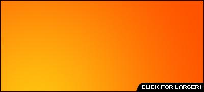 Bright Orange Radial Gradient