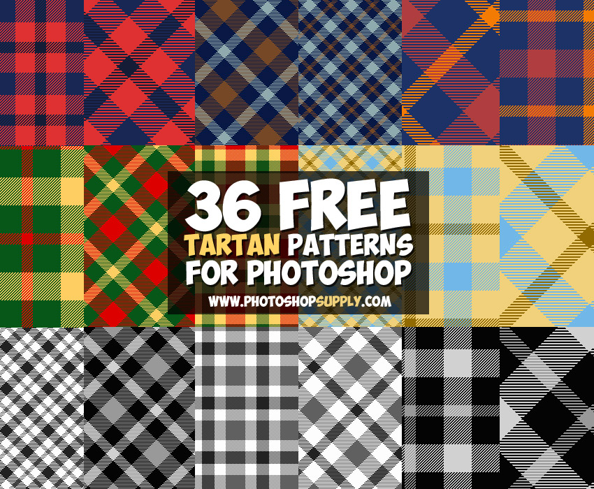 Photoshop Plaid Patterns Free