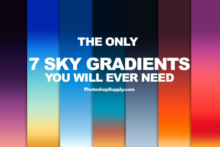 free sky gradients