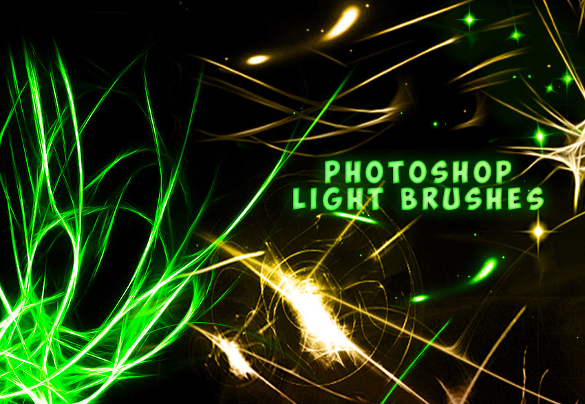 Light Photoshop Brushes Free
