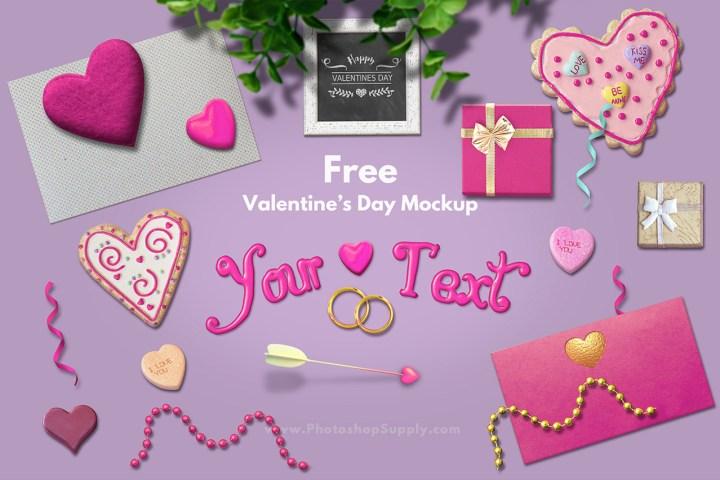 Valentine Mockup