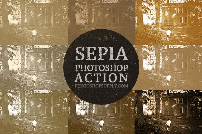 Sepia Tone In Photoshop