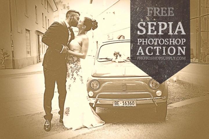 Sepia Photoshop