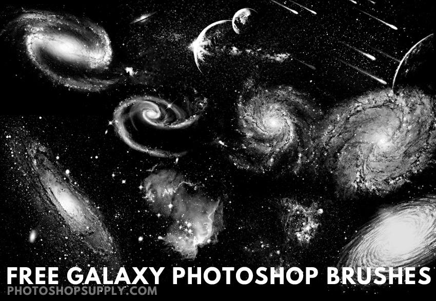 Galaxy Photoshop Brushes Free