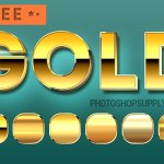 Gold Style Photoshop