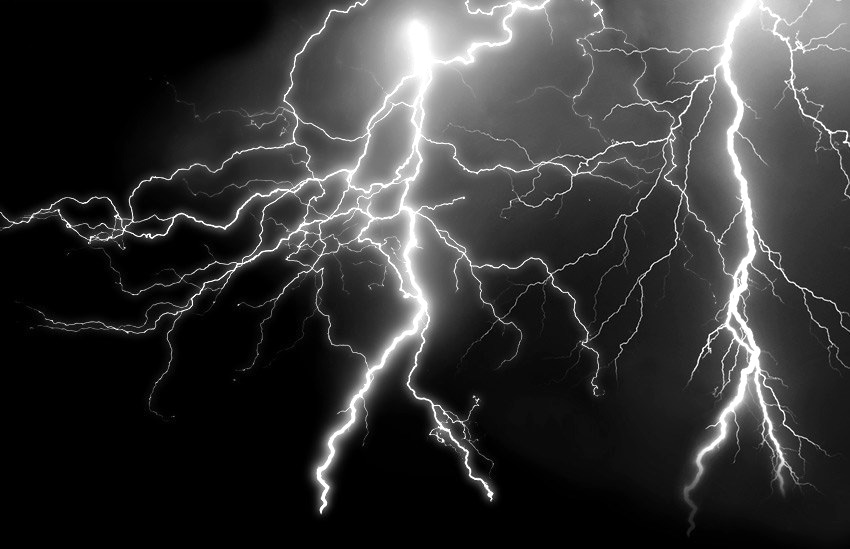 Lightning Texture Overlay