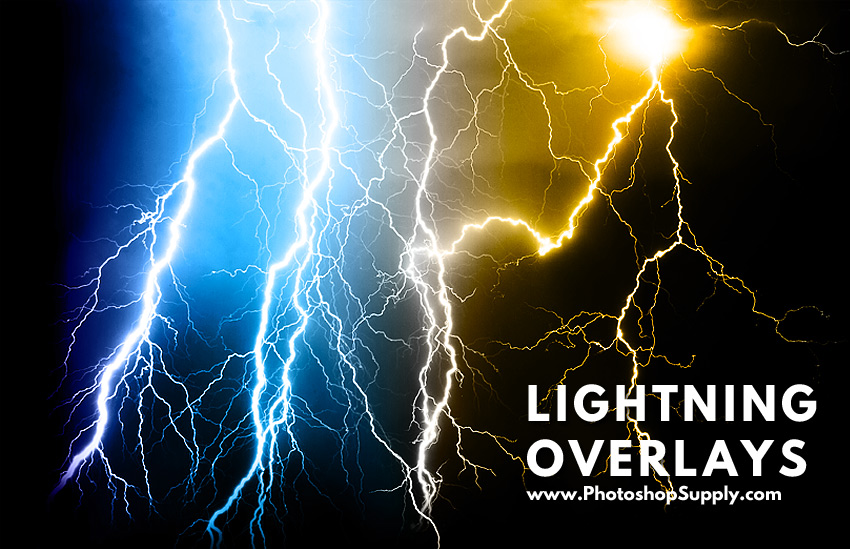 Lightning Texture For Photoshop