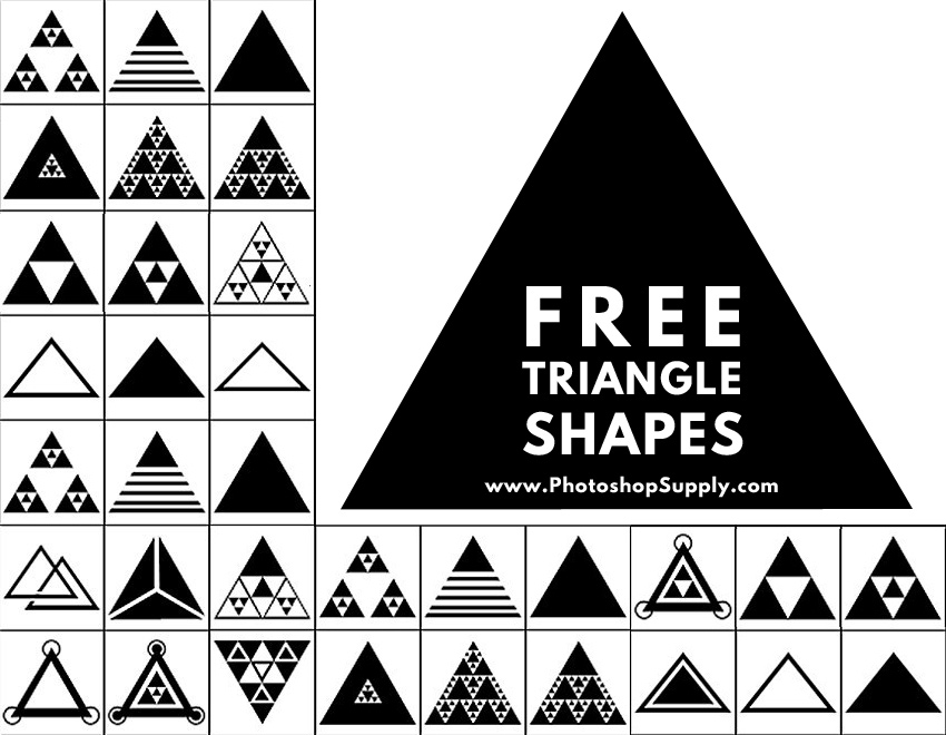 Triangle Photoshop Shape