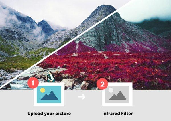 (FREE) Infrared Photoshop Action - Photoshop Supply