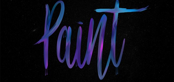 How to: Create a Paint Text Effect in Photoshop ...