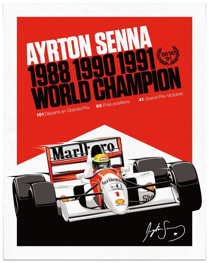 Senna Poster V4