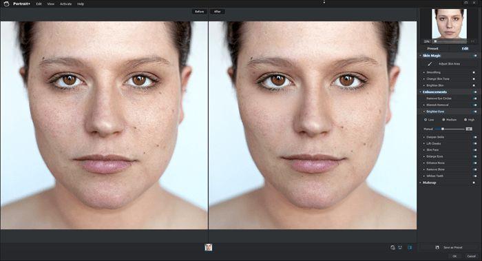 Portrait Enhancements on Low