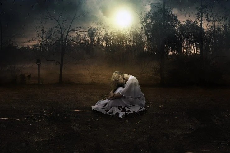 Create A Fantasy Moonlight Emotional Manipulation In Photoshop