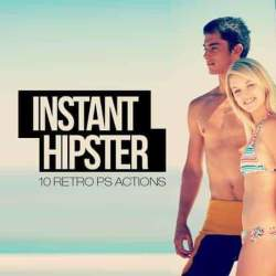 Instant Hipster by SparkleStock