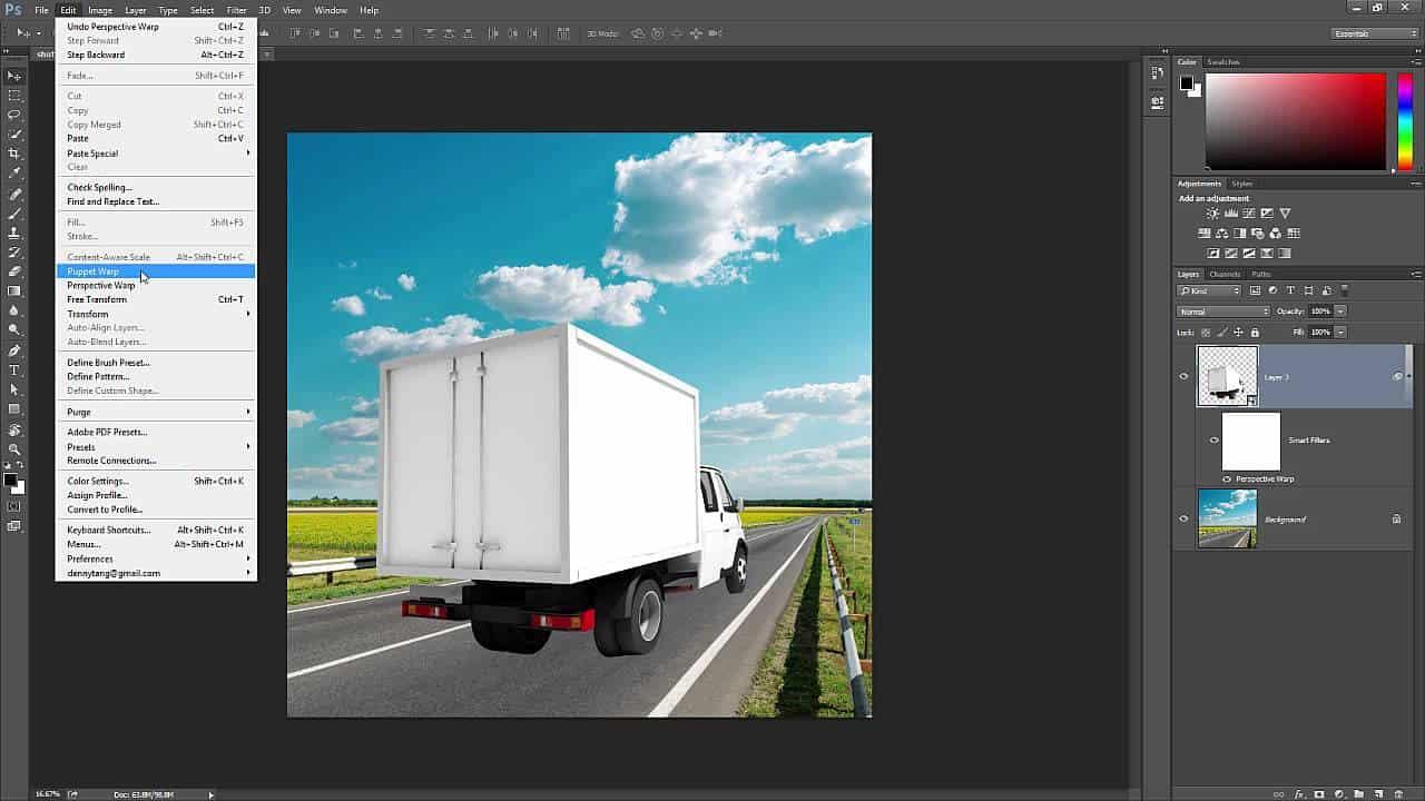 4 Useful Ways To Use Perspective Warp Photoshop Tutorials