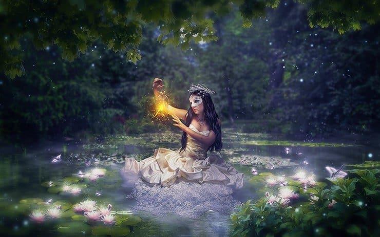 Tạo ảnh trong đêm của một người Mẫu ảnh nữ trong Photoshop