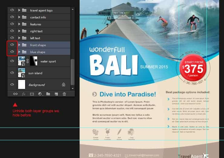 Create Your Own Travel Brochure Using Only Photoshop  Photoshop