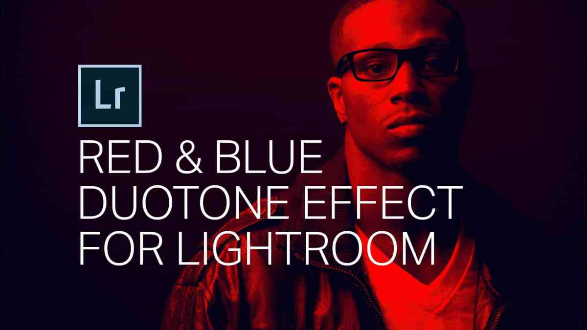 How to Create a Red Blue Duotone Effect