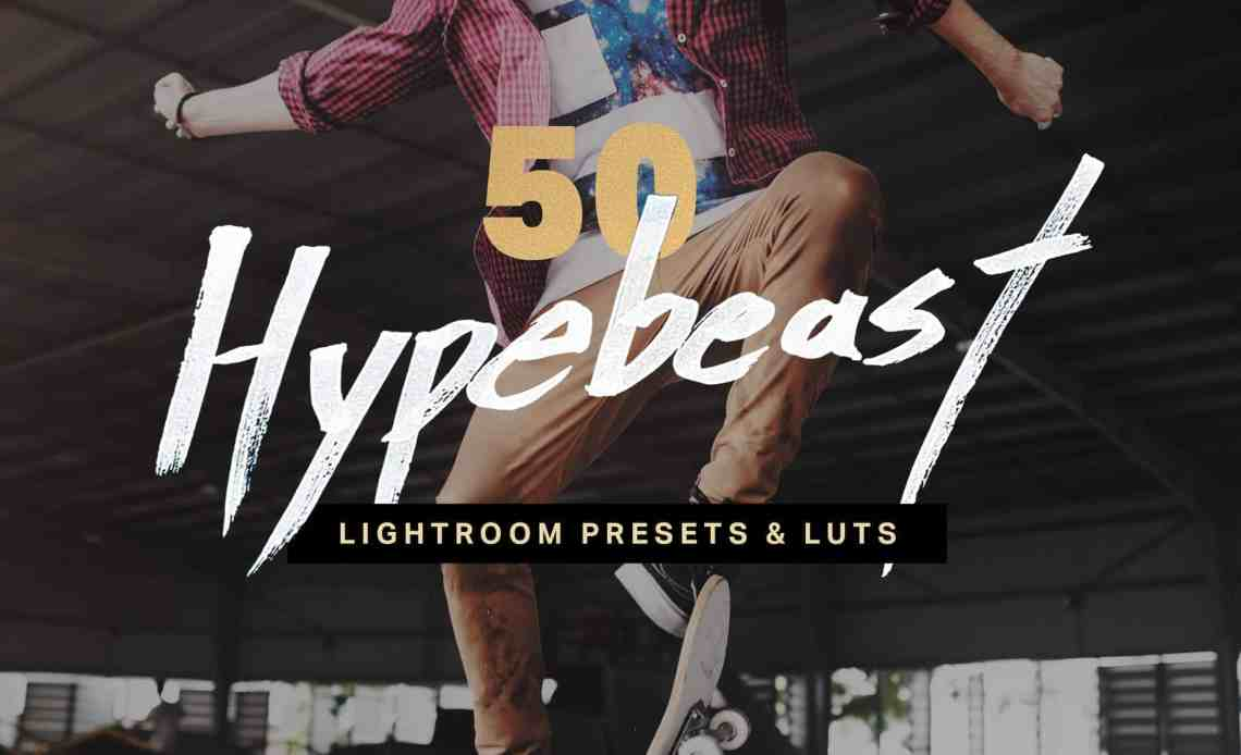 10 Hypebeast Lightroom Mobile Presets and LUTs - Photoshop