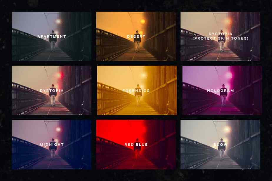 Bladerunner 2049 Lightroom Presets