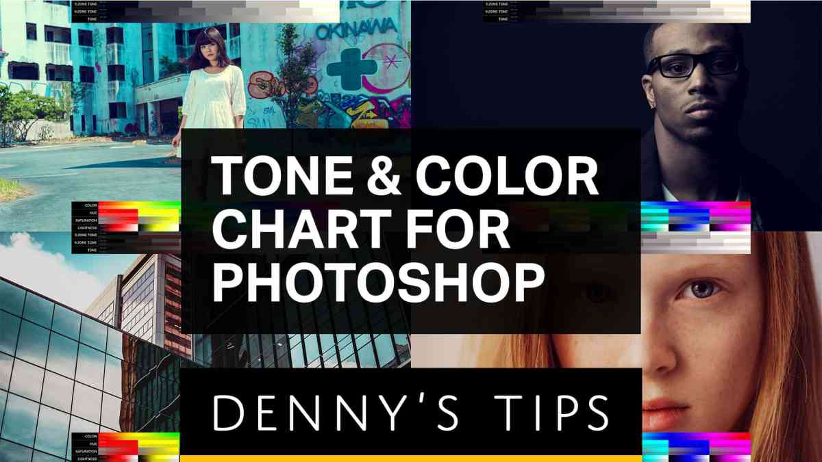 Color Grade Better with These Free Charts for Photoshop & Lightroom