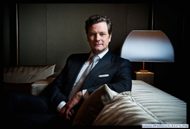 Colin Firth at the Burj Khalifa
