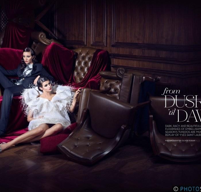 From Dusk 'til Dawn Editorial for La Femme