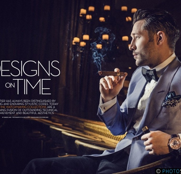 Advertorial for Cartier