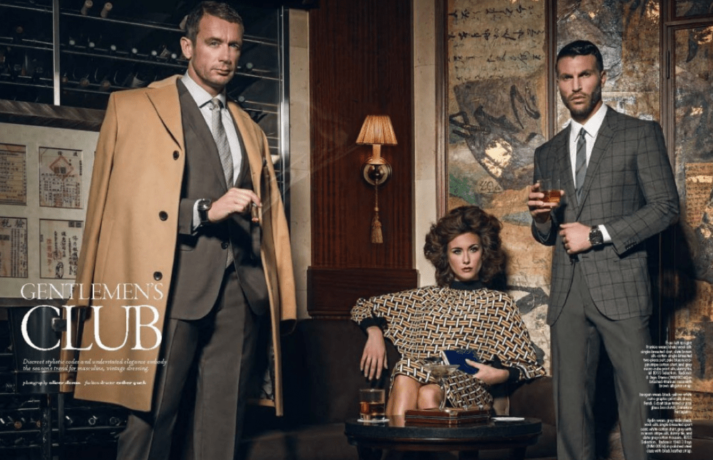 Fashion shoot for Panerai | Gentleman's Club