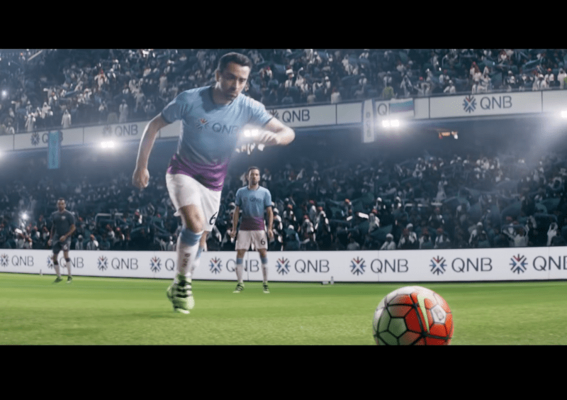 Behind the scenes with famous footballer, Xavi