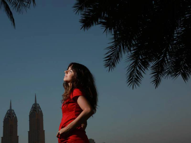 Anne… a German photographer visiting Dubai