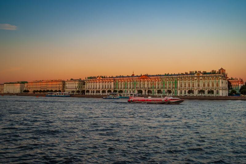 Beginning of the white night - Saint Petersburg>