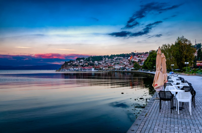 The magic of Ohrid - Lakeside at dawn