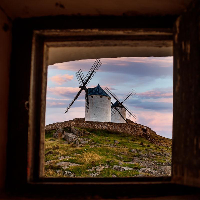 Windmills of La Mancha -Consuegra
