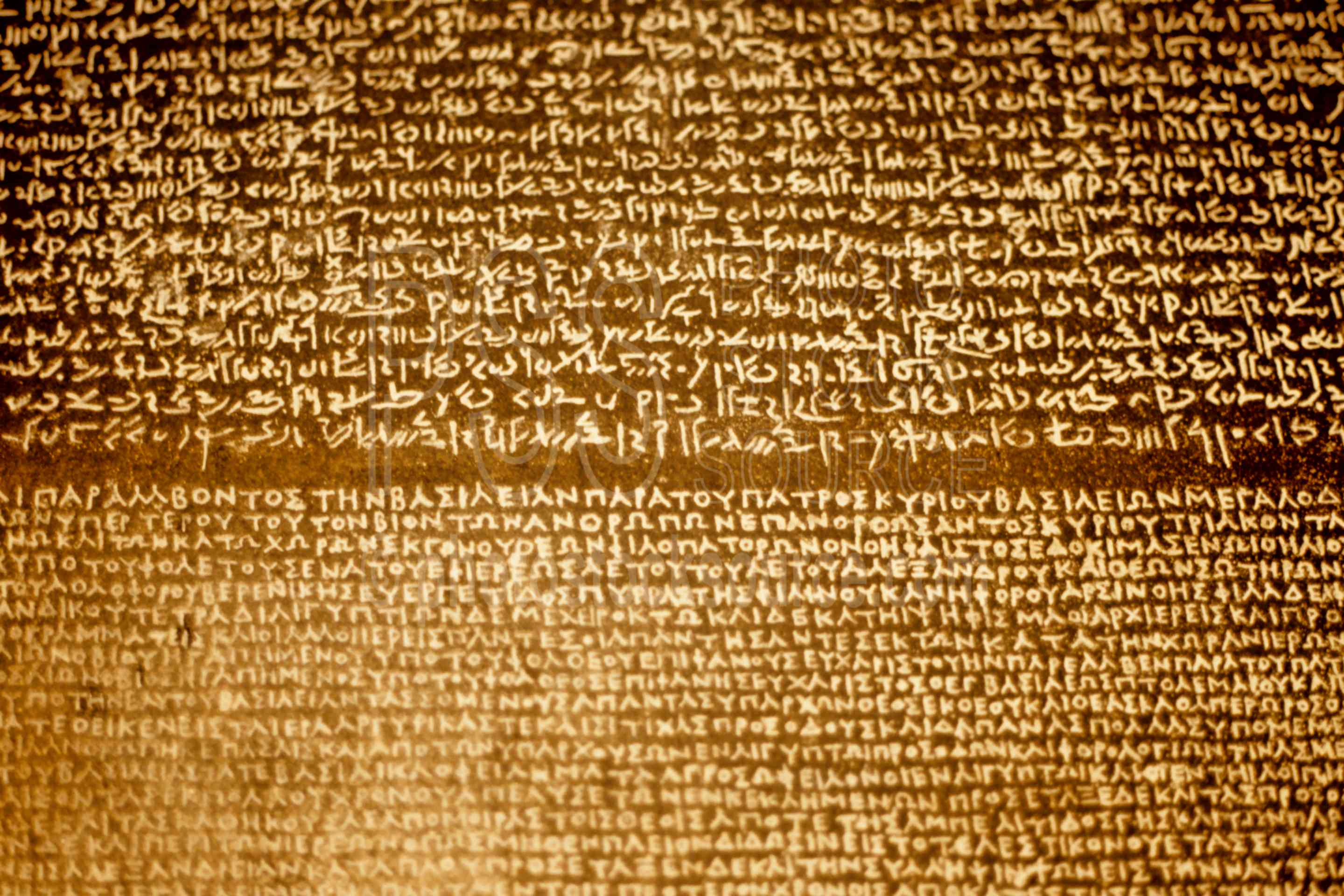 Photo Of Rosetta Stone By Photo Stock Source