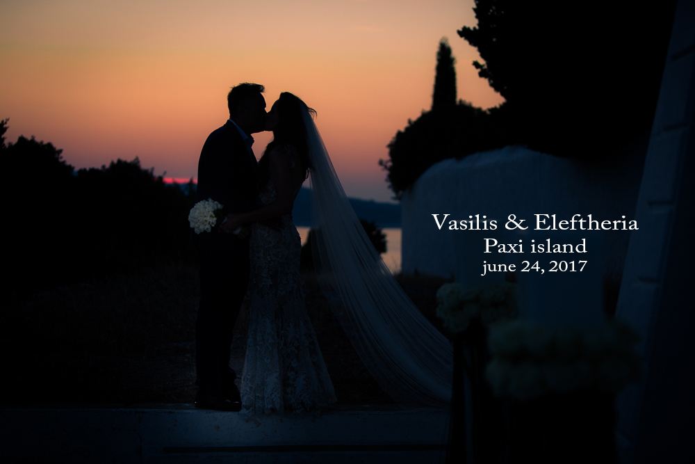 Vasilis & Eleftheria, 24 June, 2017