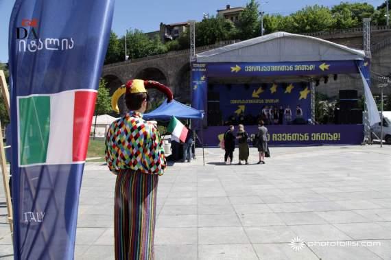 europeansday2016-dante-alighieri-tbilisi1