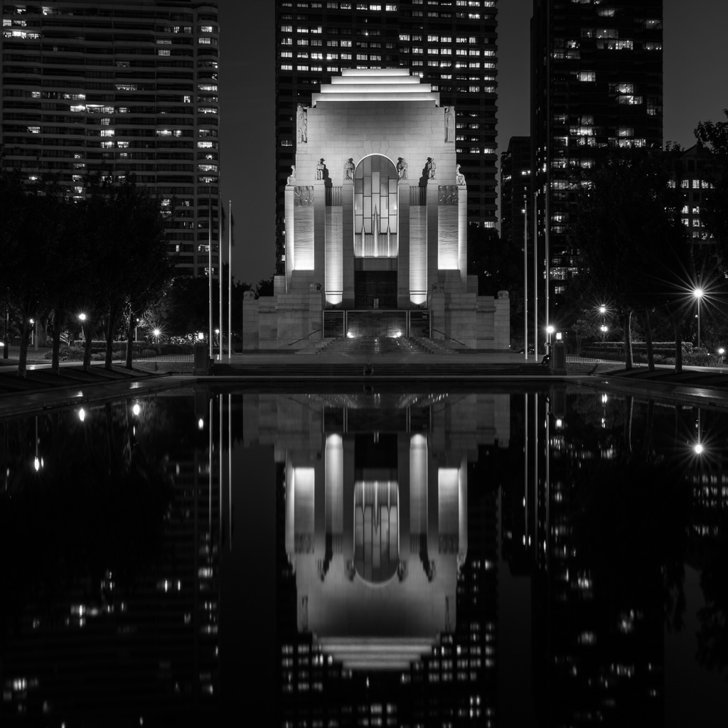 ANZAC Memorial at Hyde Park Sydney