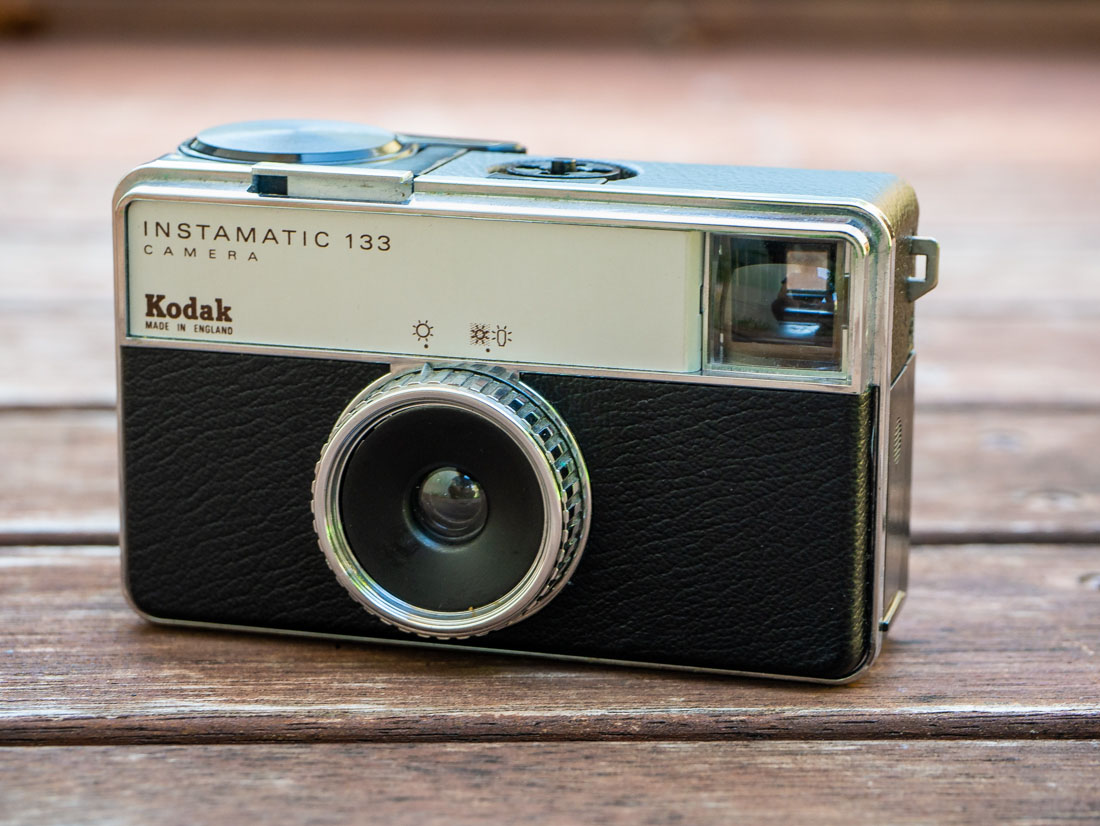 Kodak Instamatic 133 – Not really instant or automatic
