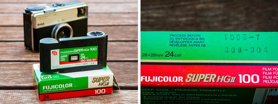 126 Film Cartridge
