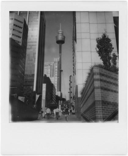 Sydney, Polaroid SX-70, Polaroid Originals B&W SX-70
