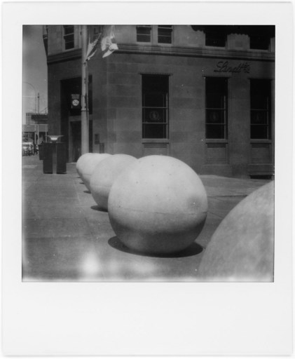 City Balls, Polaroid SX-70, Polaroid Originals B&W SX-70
