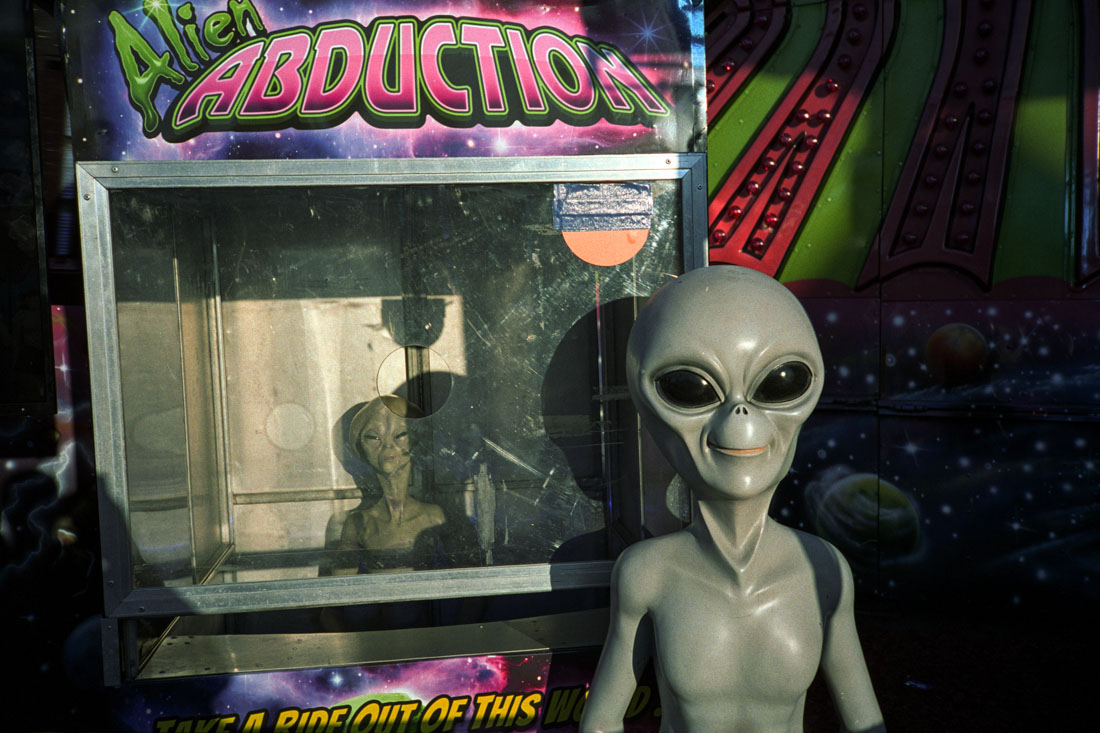 Alien Abduction! |Nikon L35AF | Kodak Portra 400