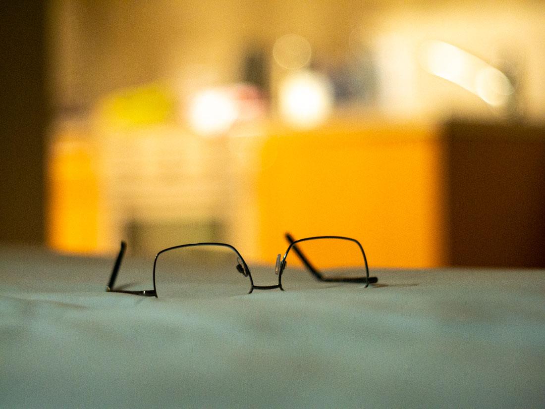 Reading glasses   Panasonic GX7   Canon 50mm f/1.8 LTM   ISO 3200