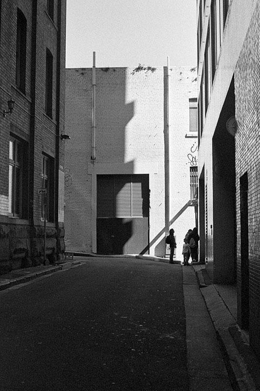 At the end of the alley   AGFA Karat 36   Kodak Tri-X 400