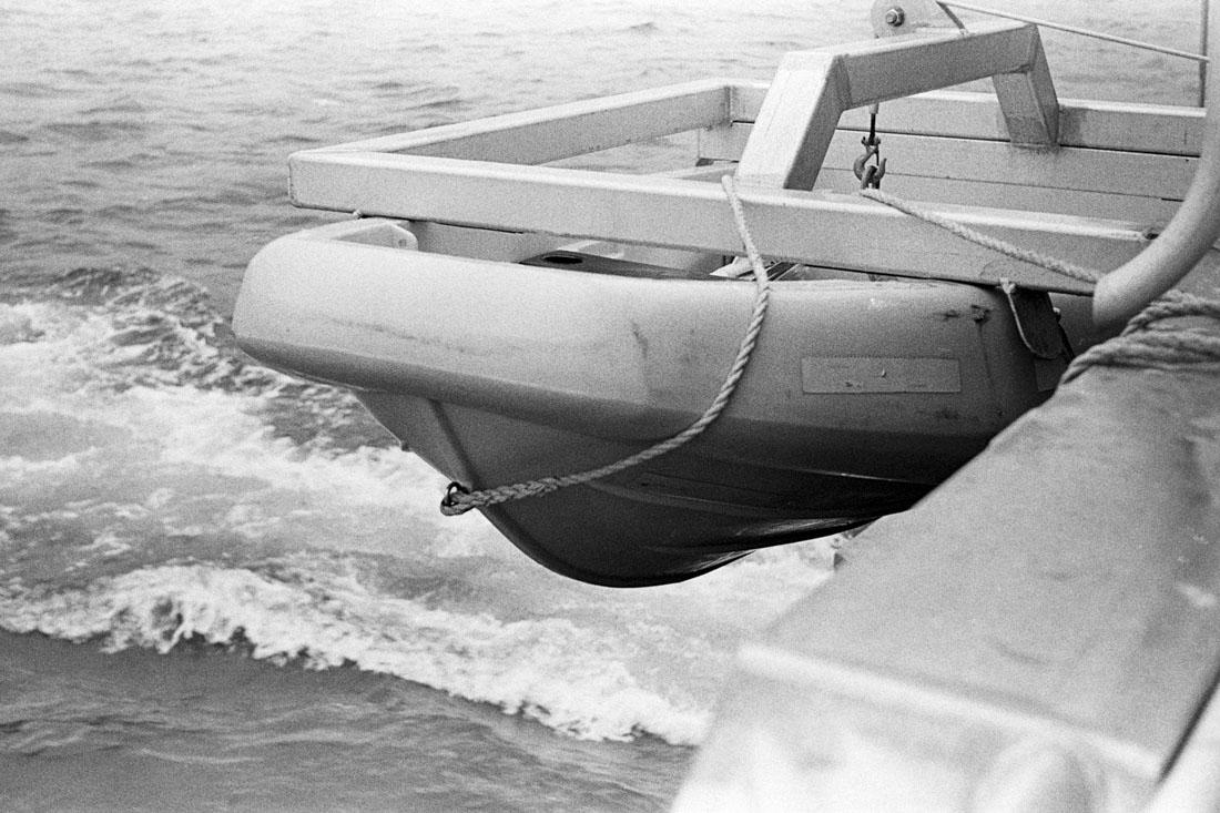 Lifeboat | AGFA Karat 36 | Kodak Tri-X 400