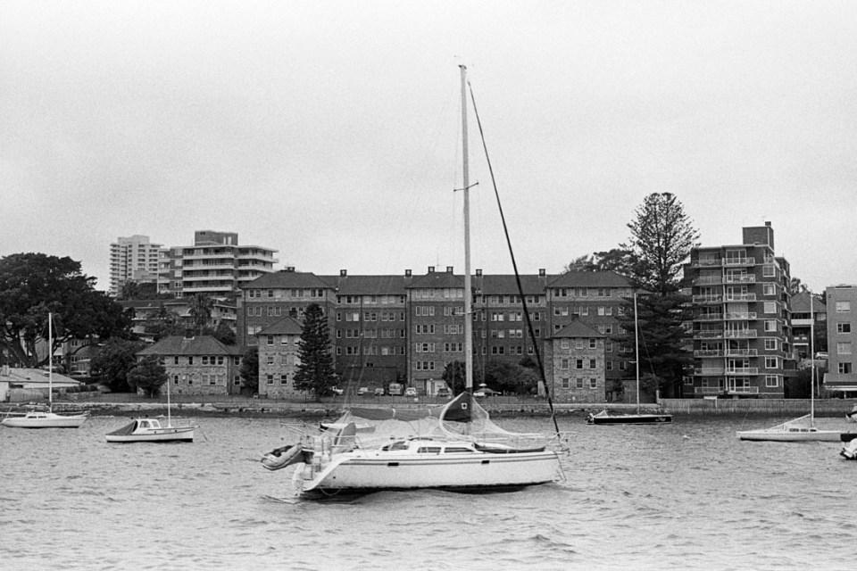 Yacht | AGFA Karat 36 | Kodak Tri-X 400