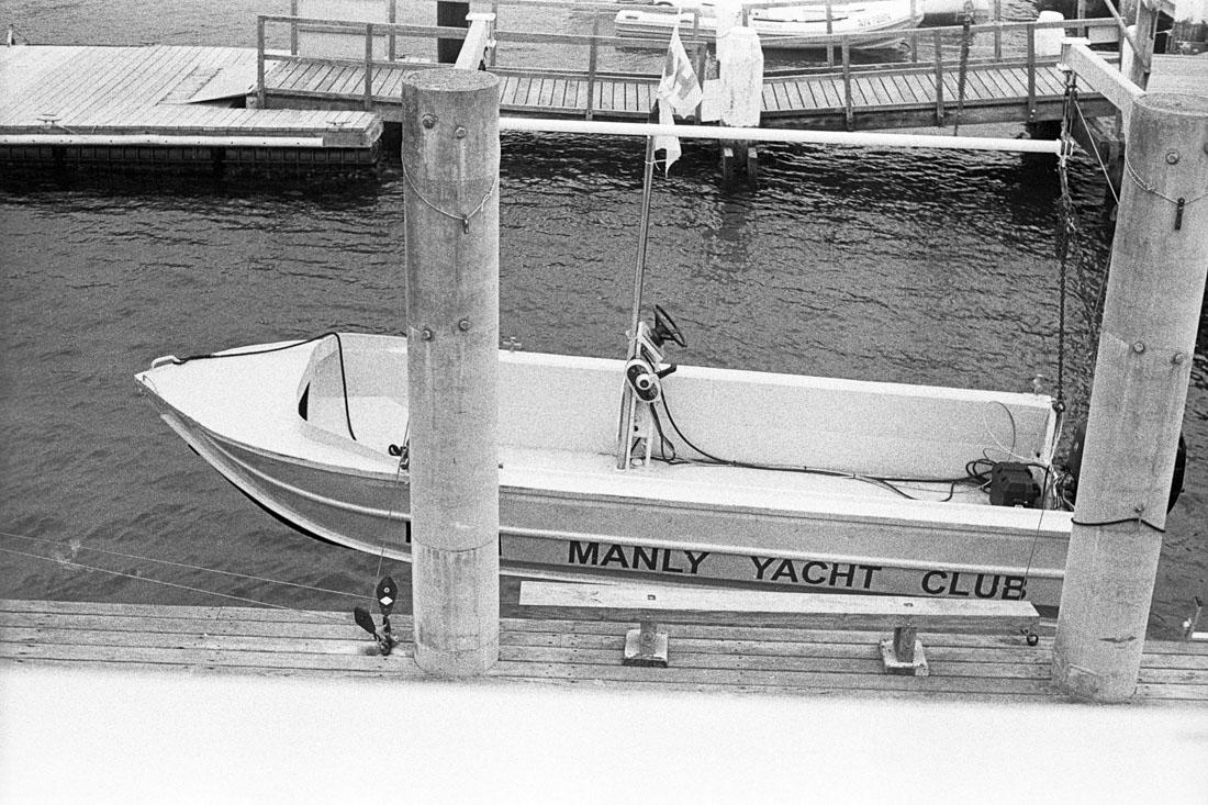 Manly Yacht Club | AGFA Karat 36 | Kodak Tri-X 400